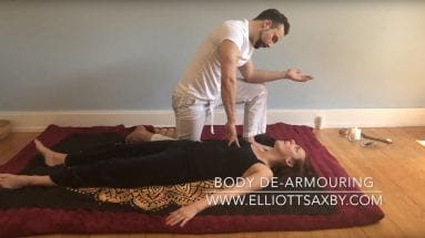 Body de-armouring training with Elliott Saxby