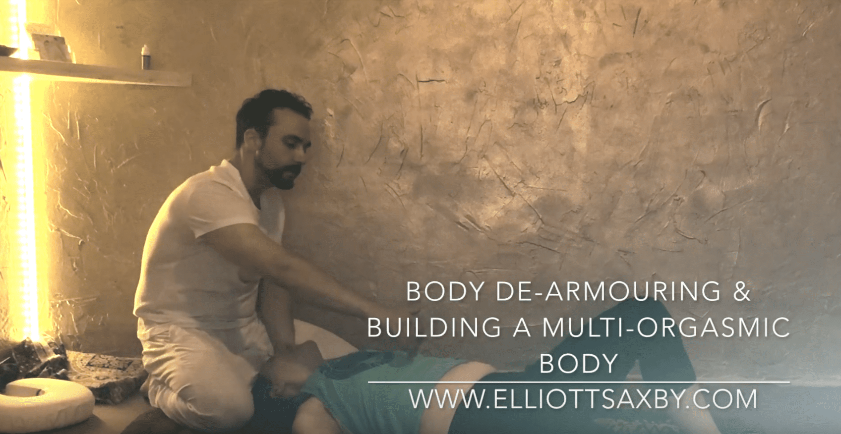 Energetic Bodywork & Body De-armouring. Full Version.